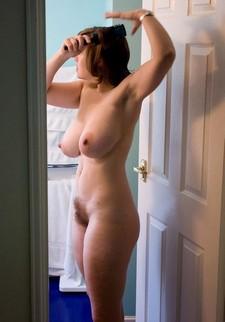Fabulous brunette in..