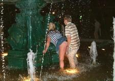 Drunken public sex.