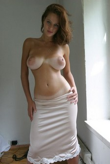 Huge areolas with tan..