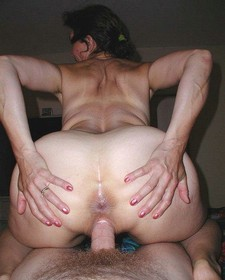 Passionate wife with a..