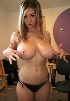 Nude huge pierced..