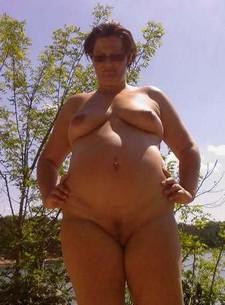 Chubby granny BBW naked