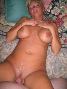 Plump mature lady got..