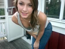 Beautiful teen (18+) in..
