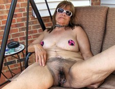 Hairy And Pierced Granny..