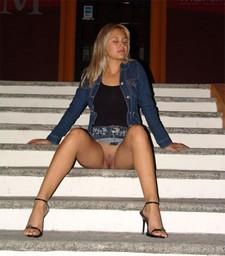 Cute blonde girlfriend..