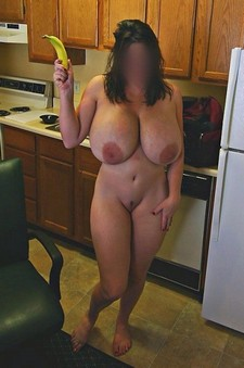 Unknown amateur with big..