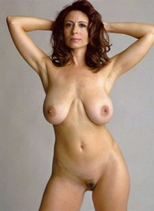 Mature brunette with..