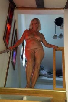 Sexy granny at home,..