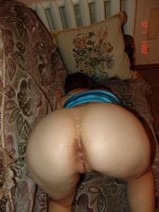 Big round butt homemade..