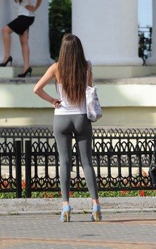 Fine Ass In Yoga Pants.