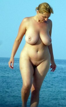 Chubby Mature Blonde..