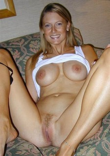 Lovely blonde mature in..