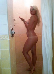 Naughty blonde beauty..