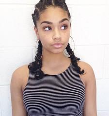 Cute Ebony Teen Girl..