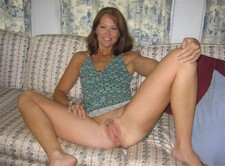 Beautiful wife spreading..