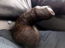 Huge black balls and..