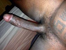 My long ebony dick..