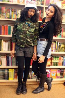 My beautiful sister & I,..