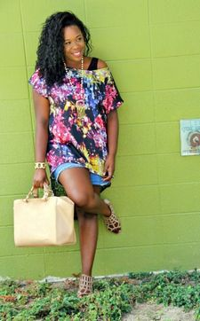 Check her fashion blog..