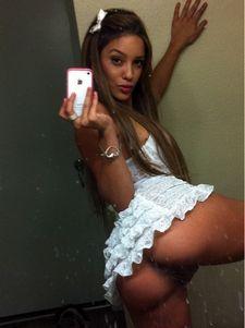 Sexy brunette latina..