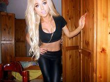 Chloe Harwood - wearing..
