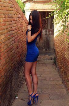 Lovely brunette student..