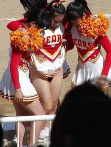 Cheerleader photo
