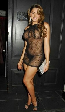 Hot mature lingerie in..